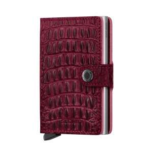 Miniwallet Nile red