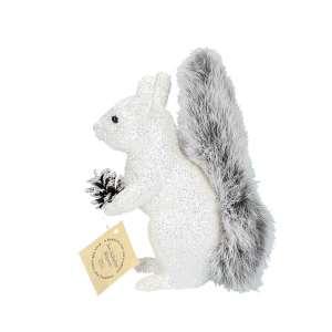 Eichhörnchen weiß, Fellschwanz