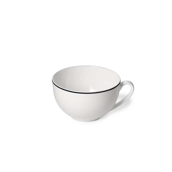 Kaffee-Obere rund 0,25 l schwarz