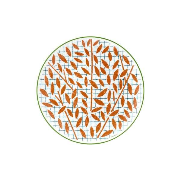 Frühstücksteller 21 cm orange