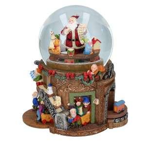 Schneekugel Weihnachtswerkstatt