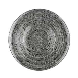 Platzteller 33 cm platin