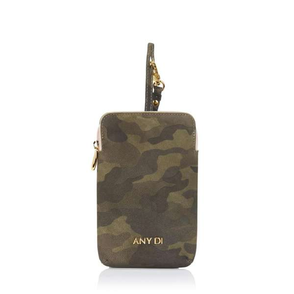 Pouch Nappaleder Camouflage CA