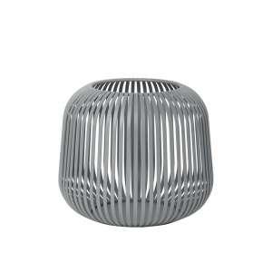 Laterne S 17 cm steel gray
