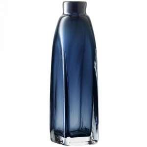 Vase 38 cm saphirblau