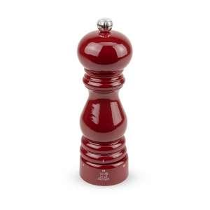 Salzmühle 18 cm rot lackiert