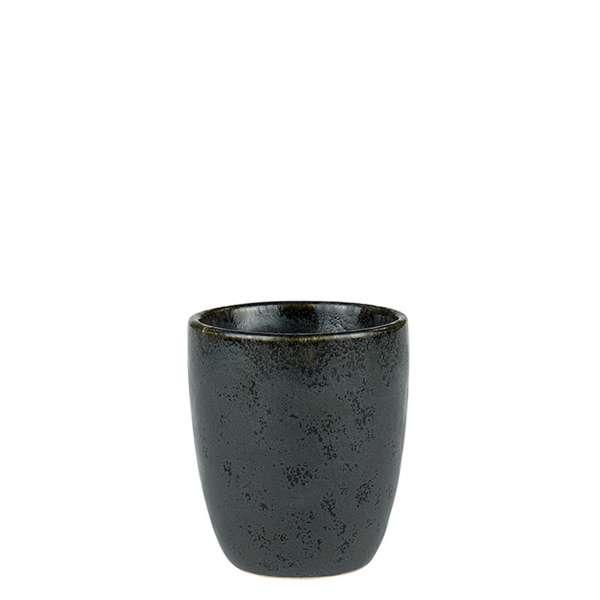 Espressotasse 0,10 l schwarz