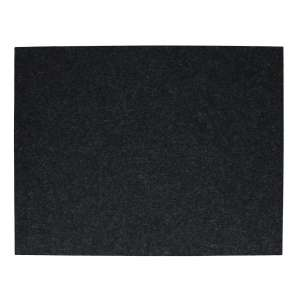 Tischset rechteckig 45x35 cm graphit 08