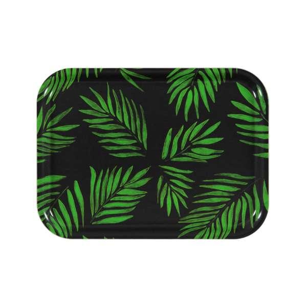 Tablett 27x20 cm grün
