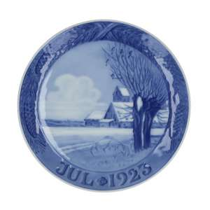Weihnachtsteller 1923, 18 cm