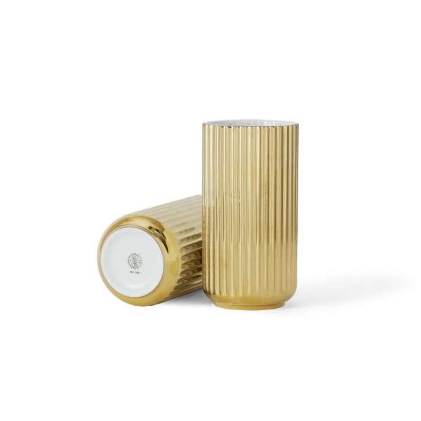 Vase 20 cm gold