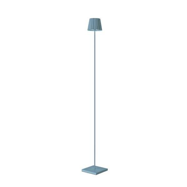 Standleuchte LED 120 cm dimmbar blau