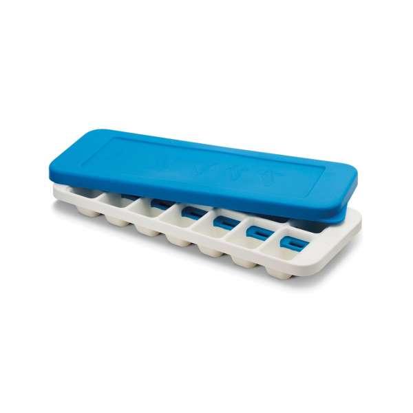 Eiswürfelbereiter mit Deckel blau