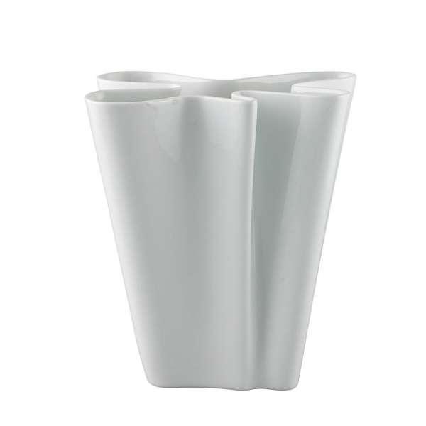 Vase 26 cm weiß