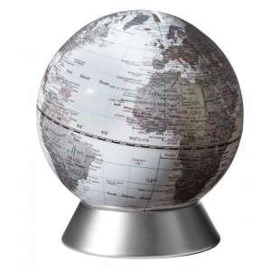 Globus Spardose weiß