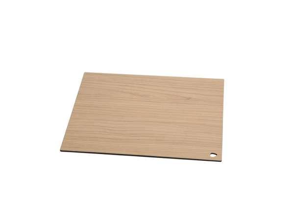 Schneid- und Servierbrett 25x16 cm kompakt Laminat Esche