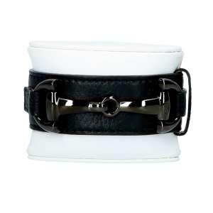 Armband Edelstahl, schwarz trense