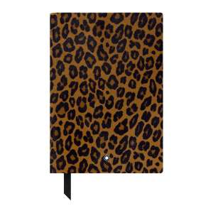 Notizbuch #146 blanko, Animal Print Leo