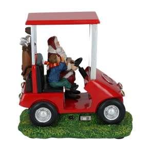 Santa Golfcart