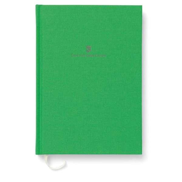 Buch m. Leineneinband A5 Viper Green