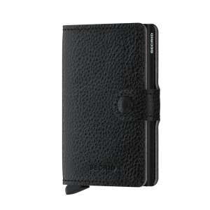 Miniwallet Vegetable Tanned black