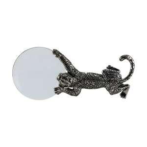 Lupe Leopard Sterlingsilber