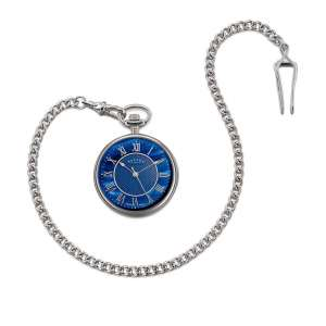 Taschenuhr Blue Mother of Pearl