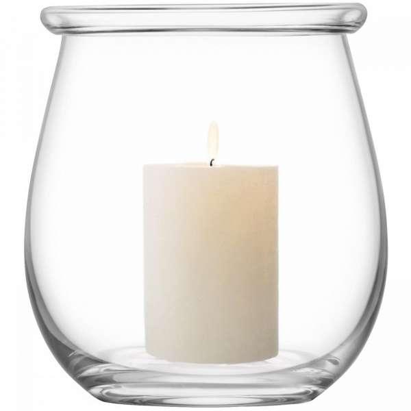 Vase/Windlicht 20 cm klar