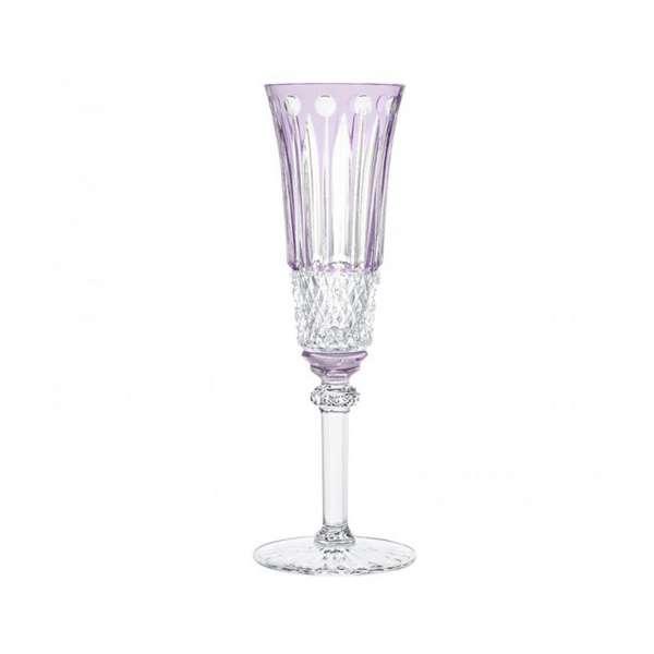 Champagnerflöte violett
