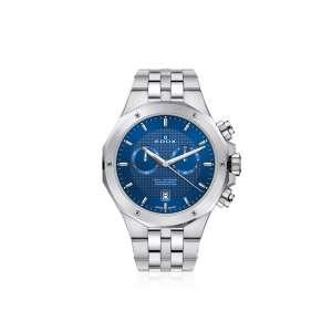 Armbanduhr Delfin Chronograph stahl/blau Quarz
