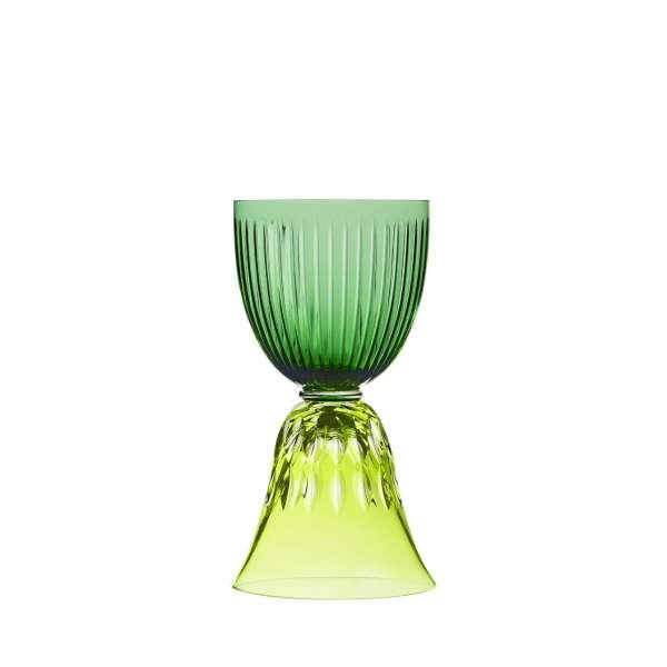 Weinglas Stella grün/pistazie