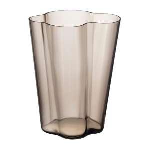 Vase 27 cm leinen