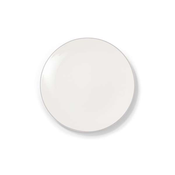 Frühstücksteller 21 cm grau