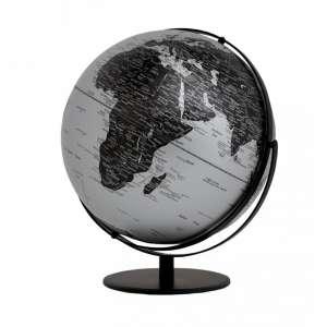 Globus matt silber