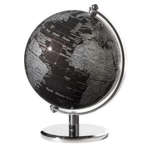 Mini-Globus schwarz