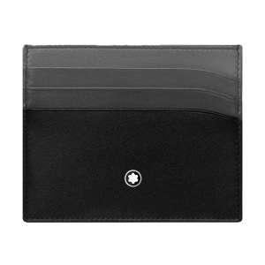 Kreditkartenetui 6 Kk schwarz/grau