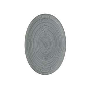 Platte oval 34 cm matt