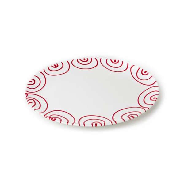 Platte oval 33 cm