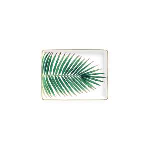 Butterplatte 16x12 cm Palm