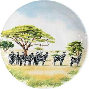 Brotteller 17 cm Zebra