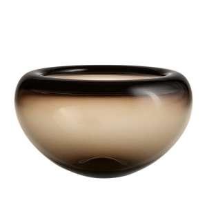Jubiläumsglasschale 25 cm braun