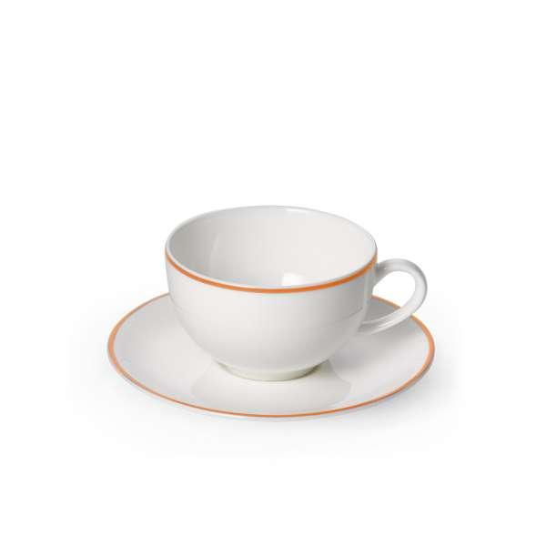 Kaffeetasse m. U. rund 0,25 l orange