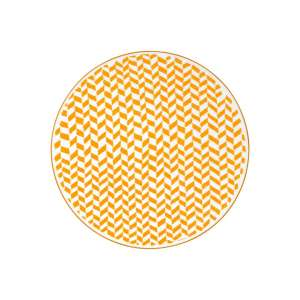 Speiseteller 27 cm gelb