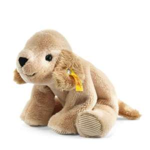 Golden Retriever Lumpi 16 cm beige