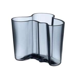 Vase 12 cm regenblau