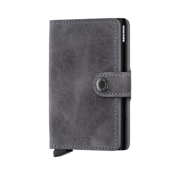 Miniwallet Vintage grey/black