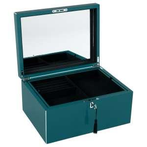 Schmuckbox m. Schloss dynasty green