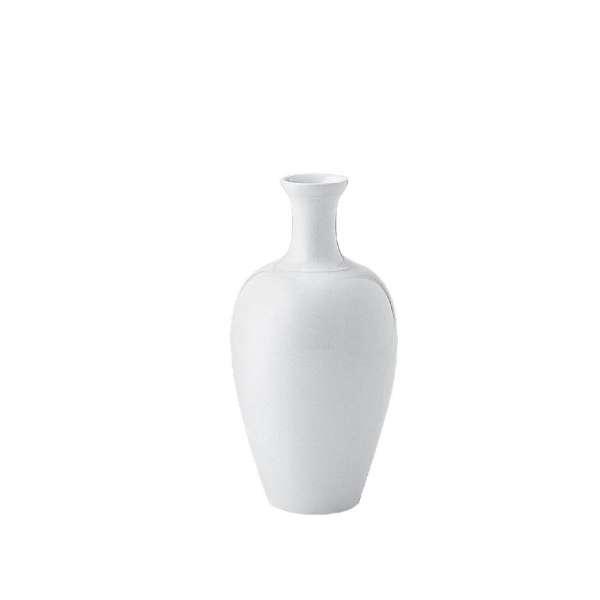 Kpm 00 Weiß Japanische Vase Groß 22 Cm Weiß Franzen Düsseldorf