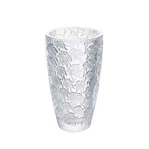 Vase Feuillage 24 cm klar