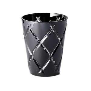 Universalglas 0,33 l schwarz cross